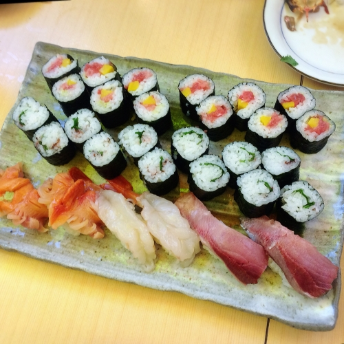 大漁旗 お寿司