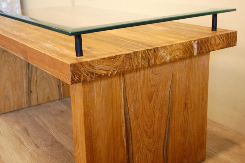アジアンオーダー家具事例 オリジナルオーダーのローテーブル