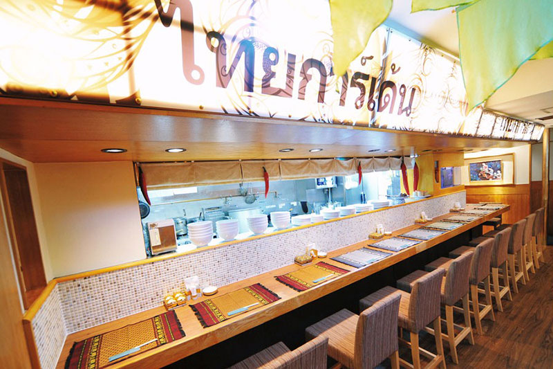 アジアンスタイル実例 タイ料理レストラン「タイガーデン」