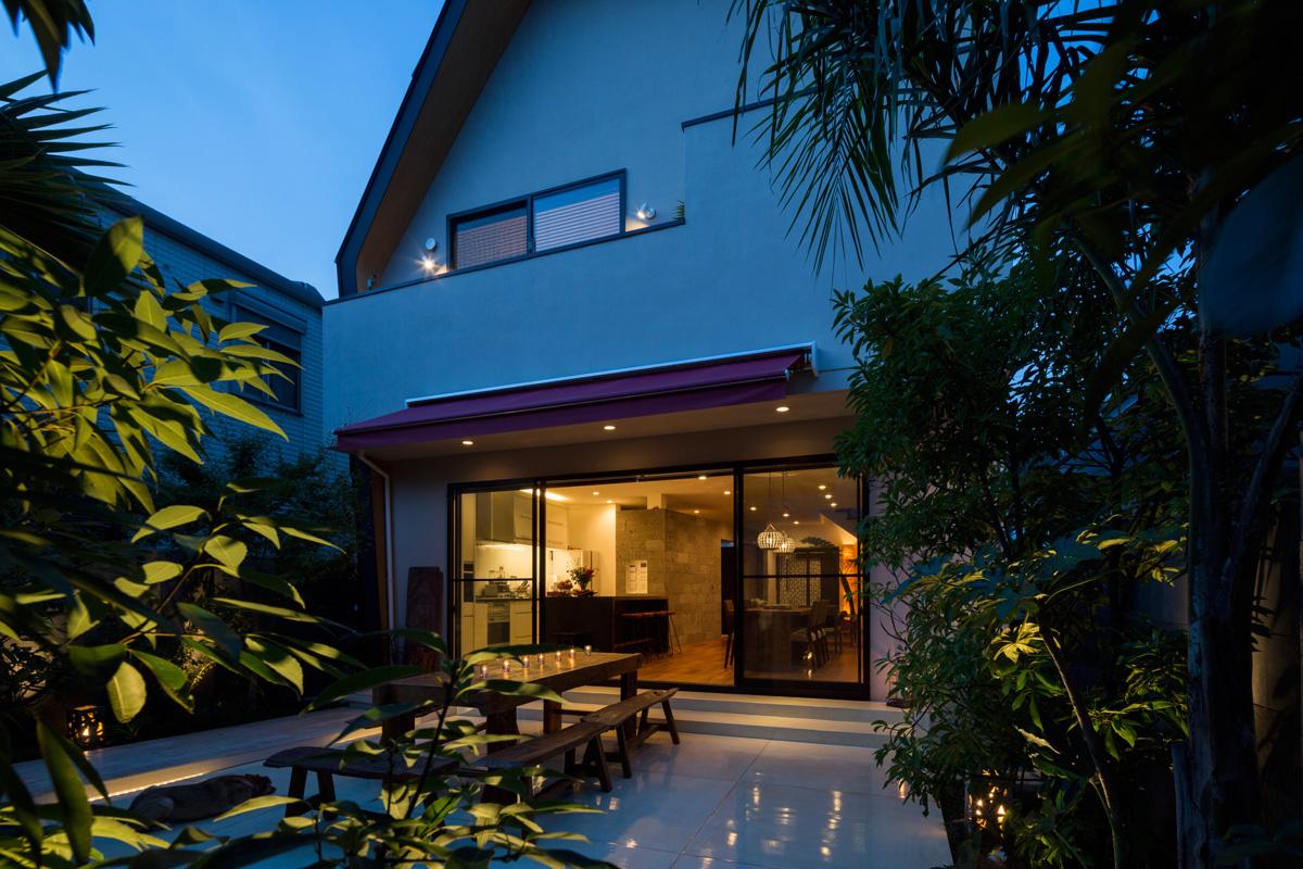 建築家と創る バリのような明るい日差しと、人生を楽しむ仲間が集う家6