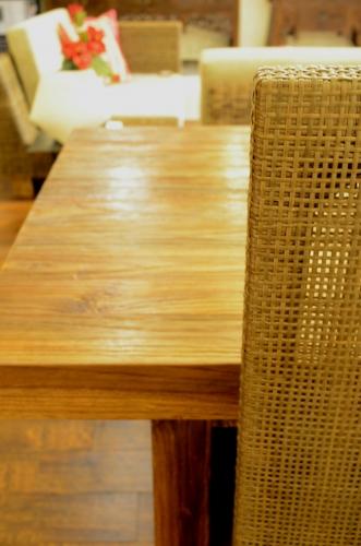 チーク古材 Chista ダイニングテーブル