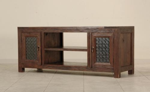 古材テレビボード