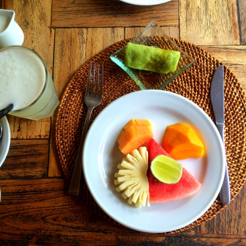 バリの朝食