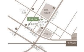 KAJA吉祥寺店地図