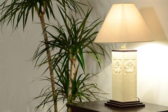アジアン家具KAJAライムストーンランプ照明