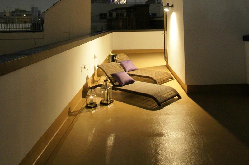 アジアン家具アウトドア屋外家具の実例