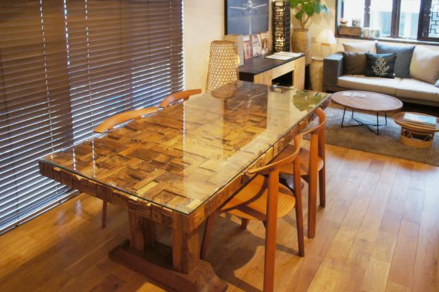 アジアン家具KAJA家具の実例