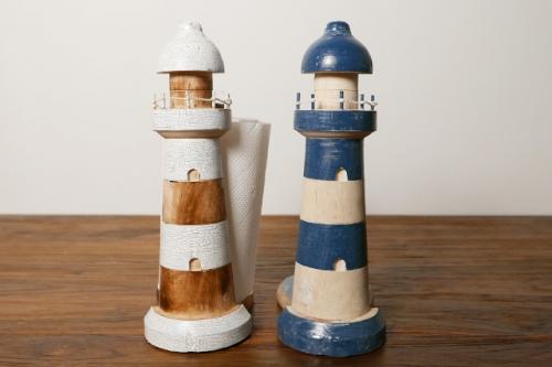 灯台型のキッチンペーパーホルダー