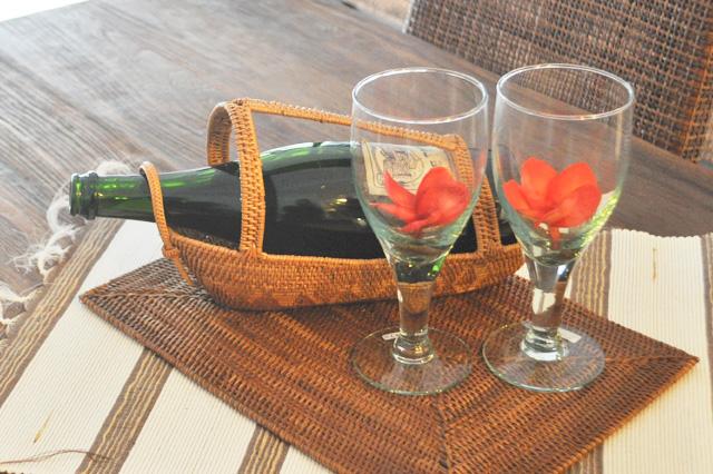 アジアン家具KAJAアタのワインホルダー