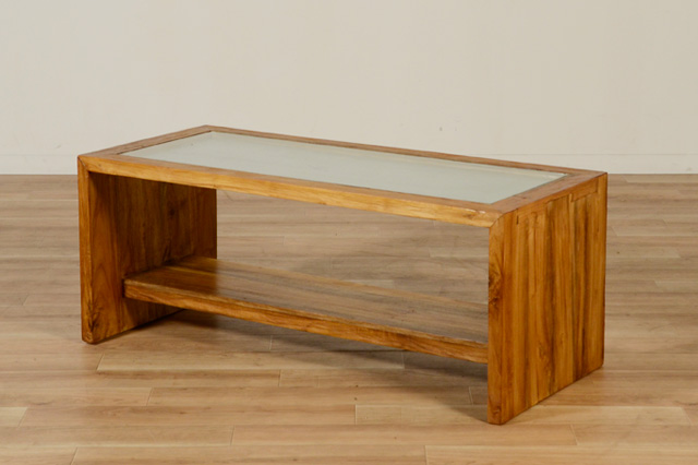 KAJAのレクタングラーローテーブル