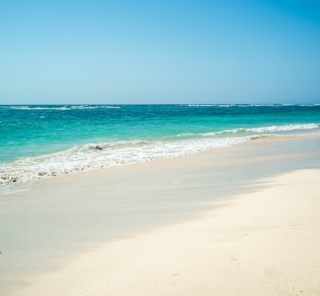 インドネシアの海
