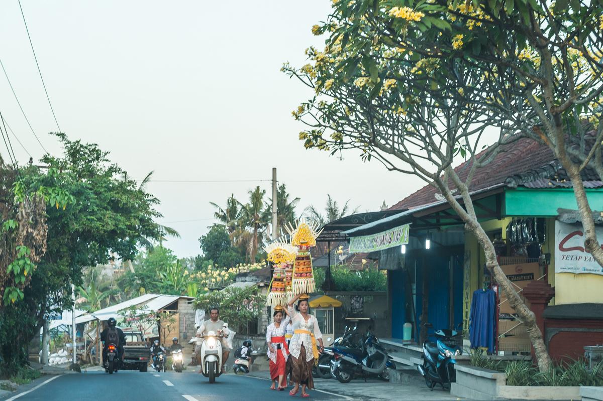 アジアン家具KAJAバリ島の風景ガボガン