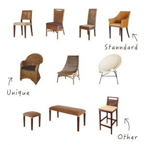 アジアン家具KAJAチェアシリーズ椅子