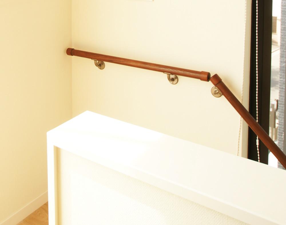 アジアン家具 インテリアKAJA階段手すりのイメージ