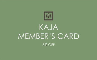 KAJA MEMBERS CARD
