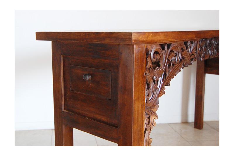 アジアンオーダー家具事例 オリジナルオーダーのコンソールテーブル