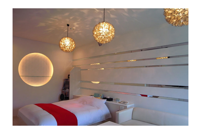 アジアンスタイル実例 ブティックホテル「エリーゼ21」
