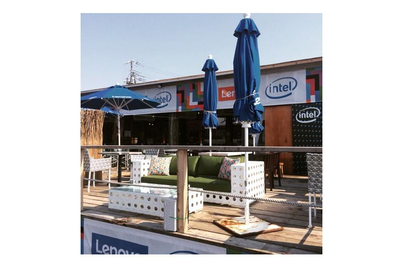 アジアンスタイル実例 海の家「Lenovo House at Quicksilver」
