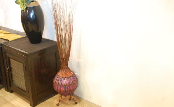 アジアン家具KAJAのオニオンランプ