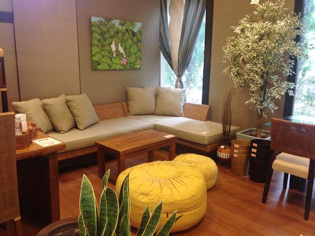 アジアン家具KAJA家具のイベント会場