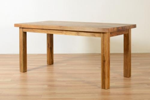 チーク古材のダイニングテーブル