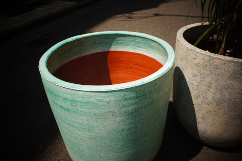 テラコッタ鉢カバー
