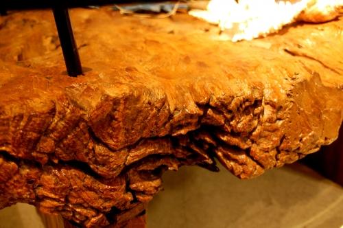 チーク古材ローテーブル