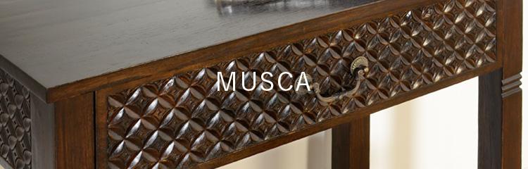アジアン家具KAJA手仕事の家具MUSCAシリーズ