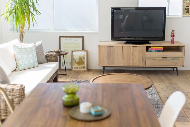 アジアン家具KAJAオーク材の家具