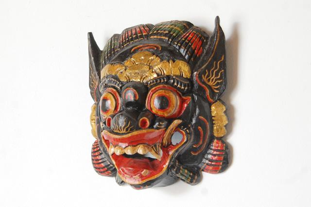 アジアン家具KAJAバリ島のお面