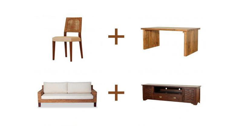 アジアン家具KAJAの家具