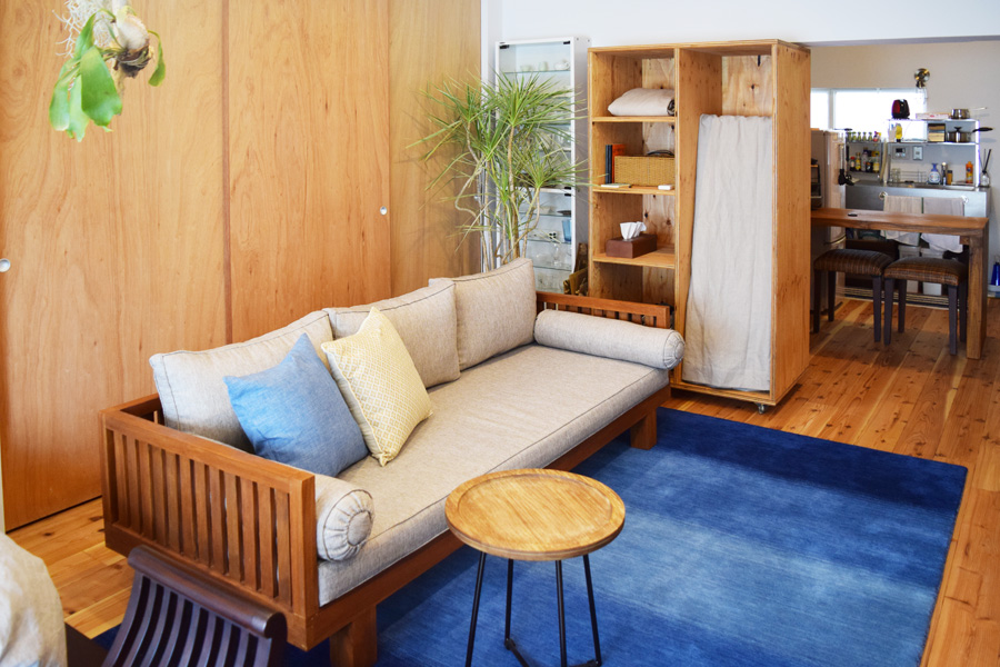 ライフスタイルに合わせたナチュラルリゾートなお部屋2