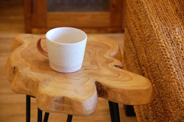 アジアン家具KAJAアイアンカフェテーブル