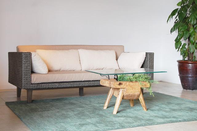 アジアン家具KAJAソファとローテーブル