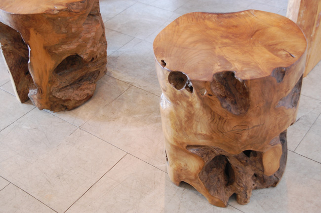 アジアン家具KAJA古木のインテリア