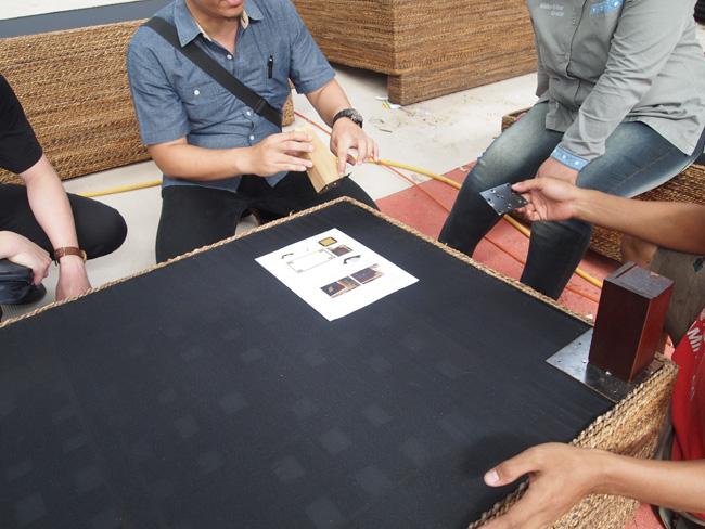 アジアン家具KAJAソファ製作背景