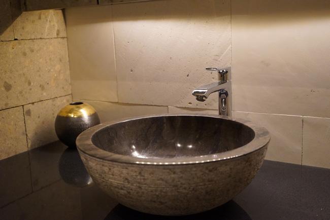 アジアン家具KAJA天然石の洗面ボウル