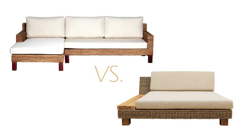 アジアン家具KAJAアジアン素材のソファ