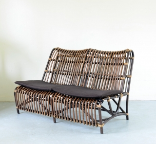 アジアン家具KAJAラタンのソファ