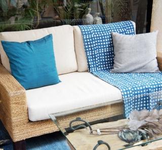 アジアン家具KAJAバナナリーフのソファ
