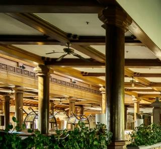 リゾートホテル、インドネシアの風景