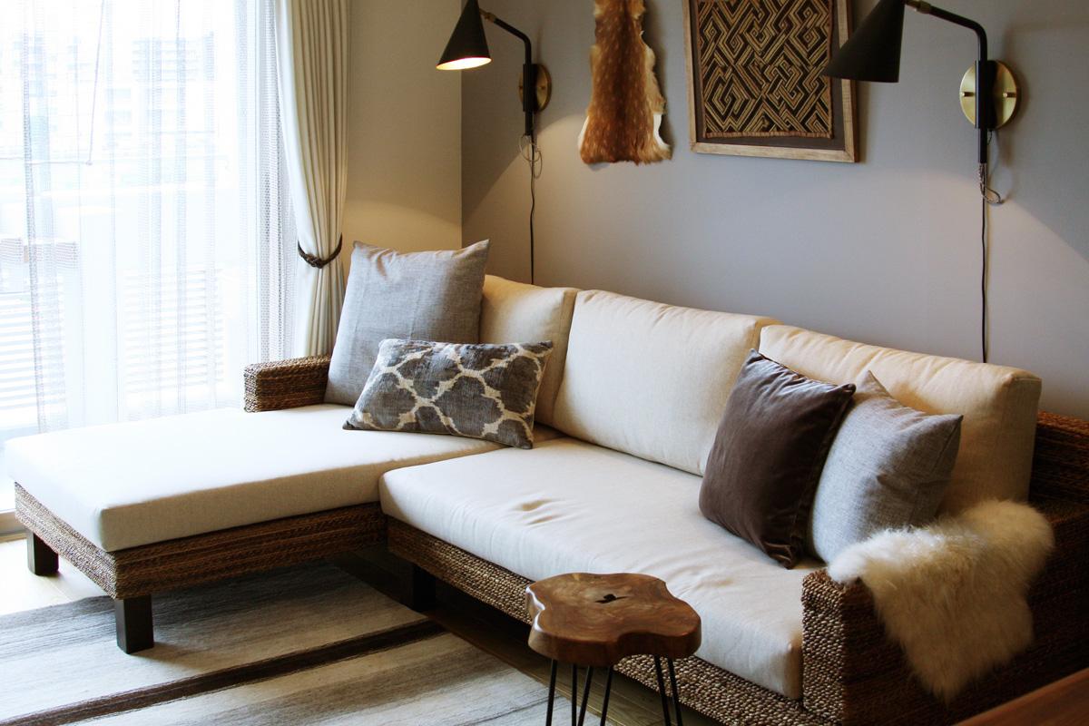 ライフスタイルに合わせた家具と照明のバランスコーディネート4