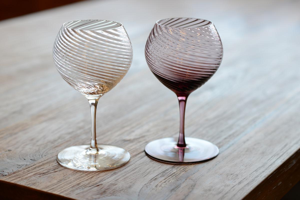 インテリアショップKAJAスガハラガラスのワイングラス