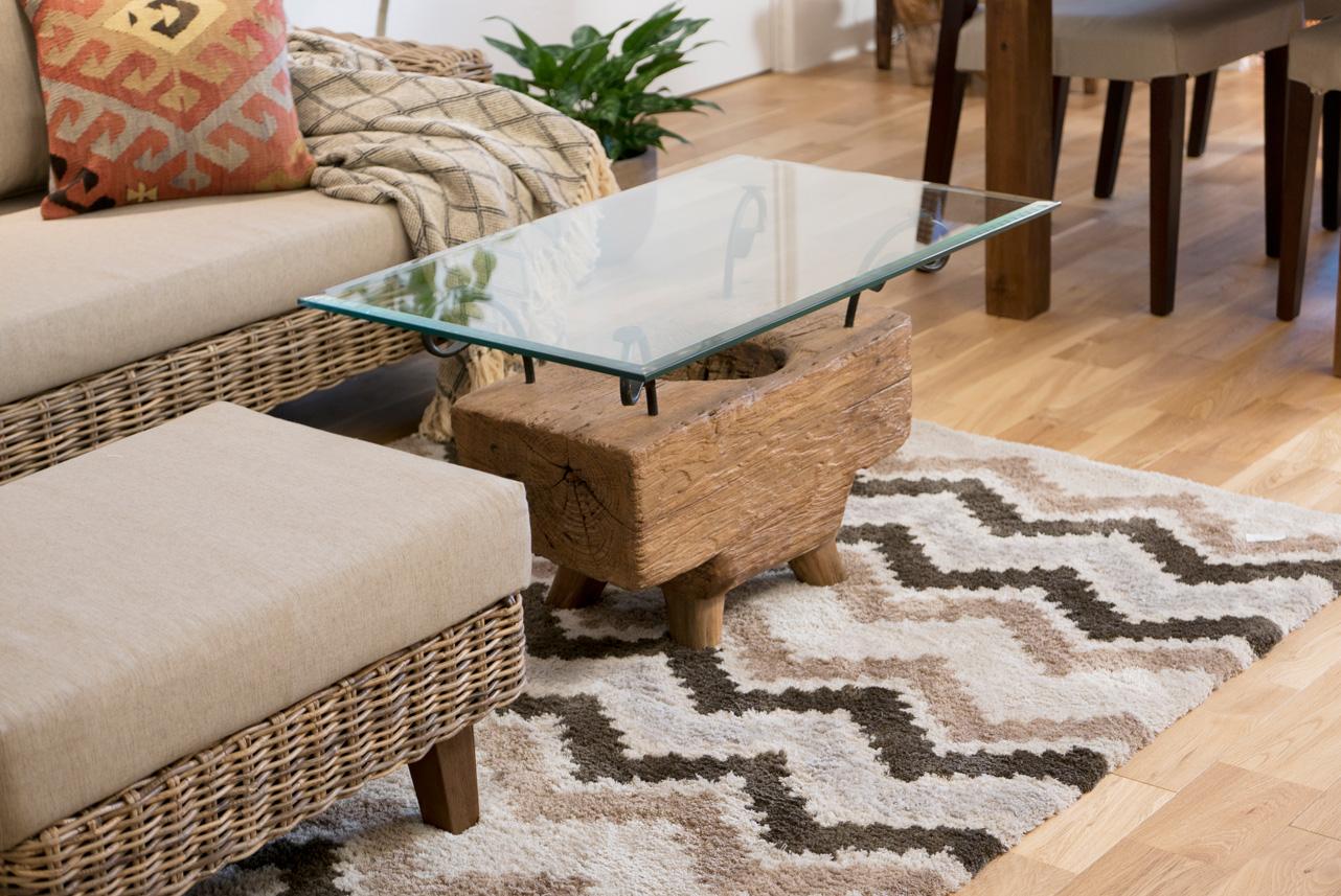 アジアン家具KAJA古材ローテーブルのコーディネート2