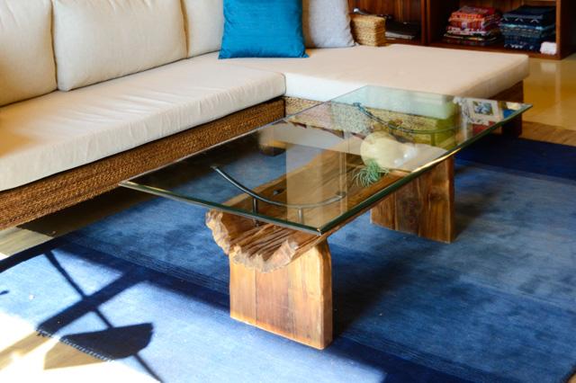アジアン家具KAJA古材ローテーブルのコーディネート