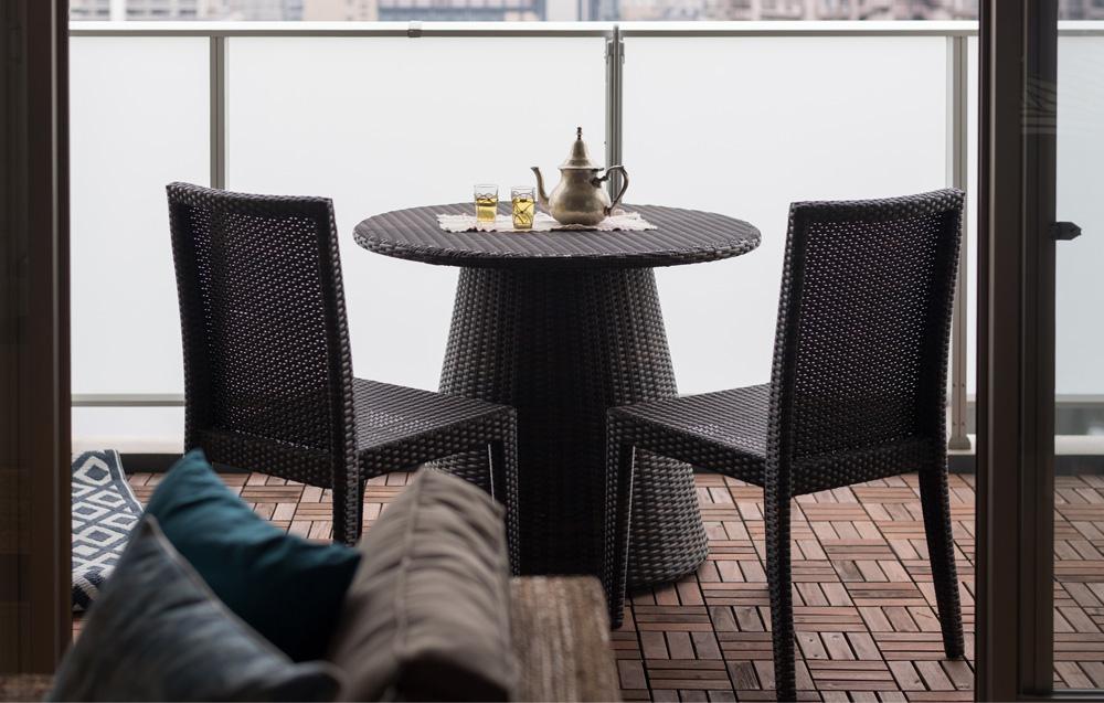 期間限定リゾート家具KAJAの銀座ポップアップ