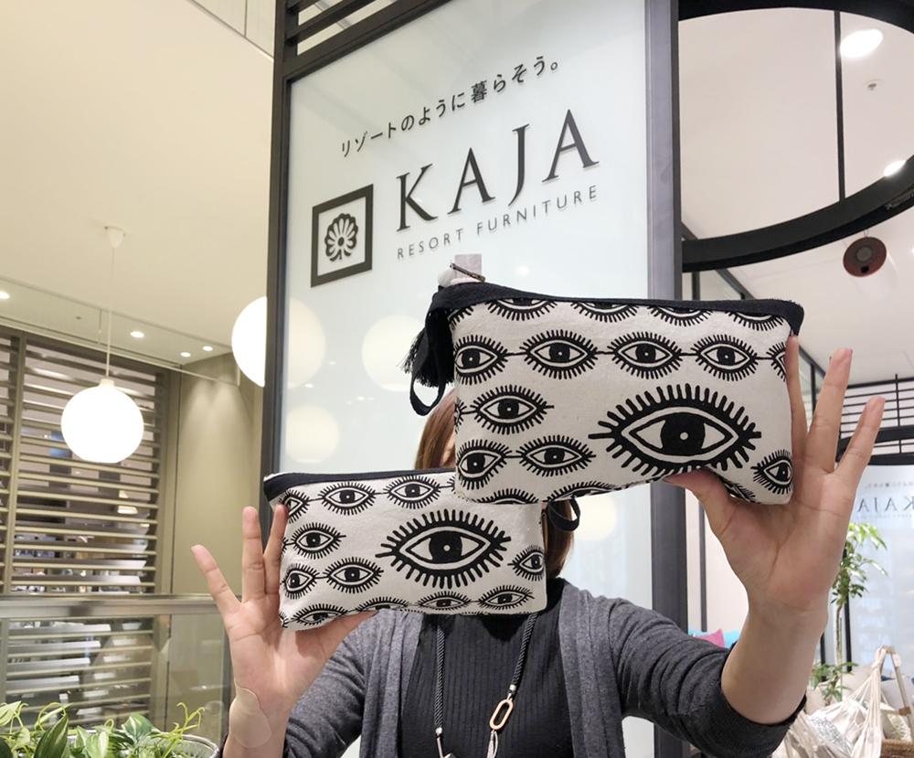 アジアン家具KAJA銀座ポップアップストアの紹介