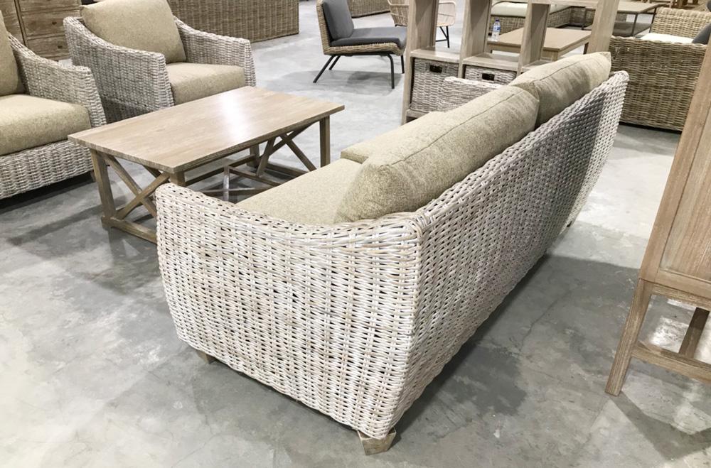アジアン家具ラメールシリーズの新しいソファ