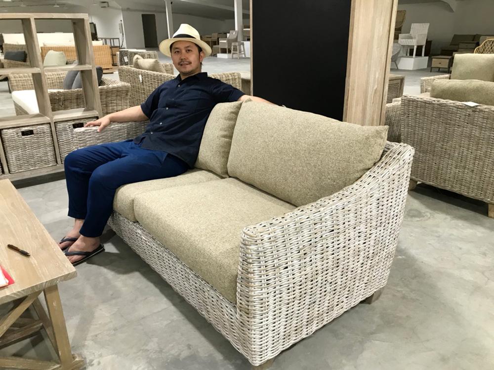 アジアン家具KAJA新商品買い付け家具
