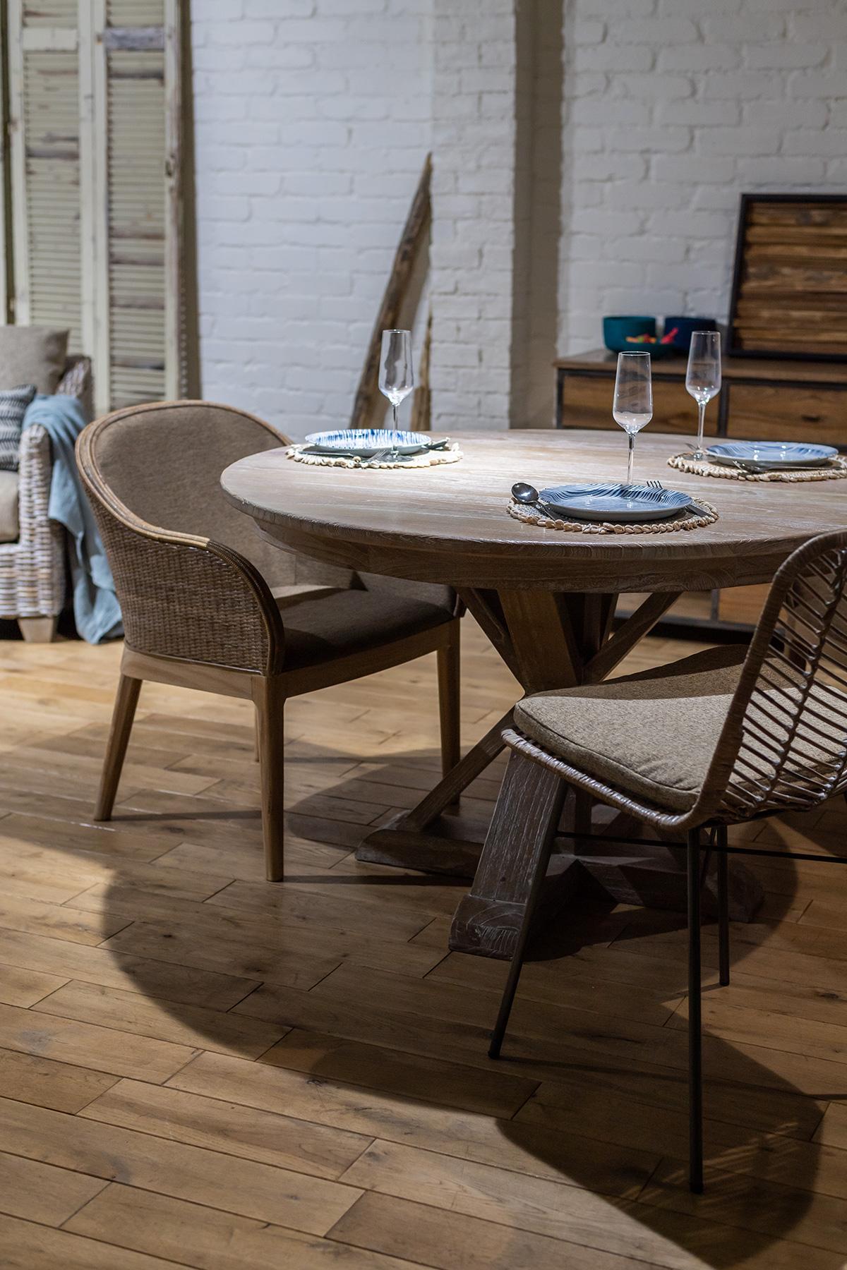 アジアン家具新しいラウンドテーブル